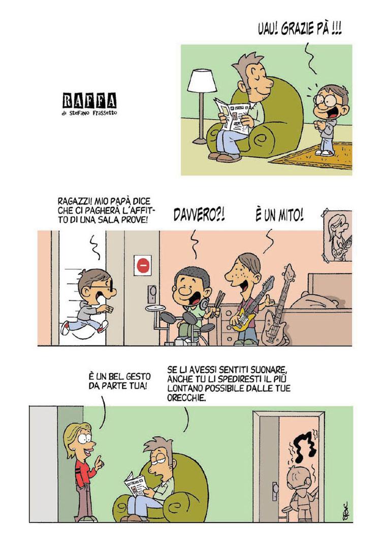 RAFFA | Il fumetto di Steve Frassetto | #83