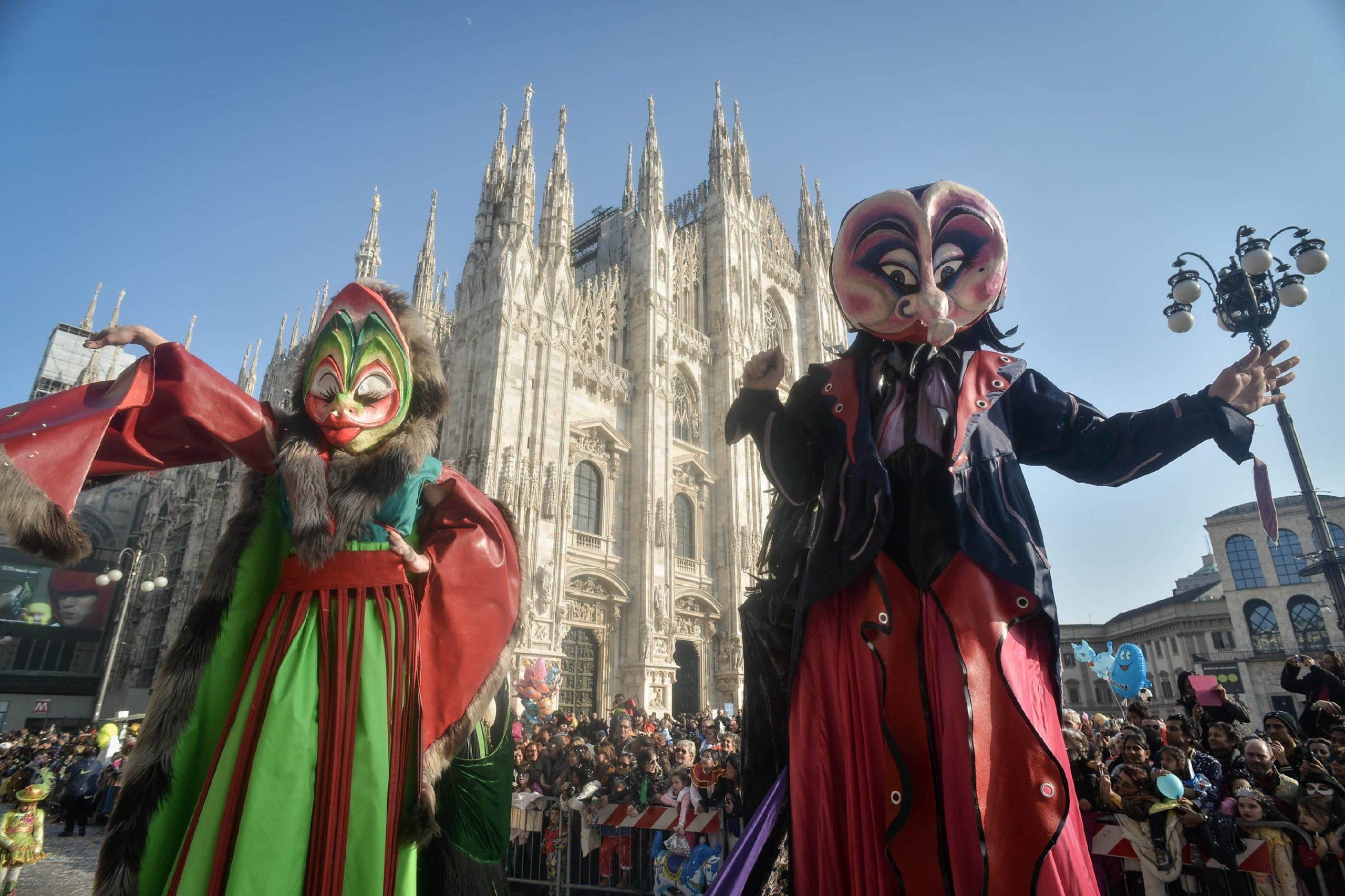 Carnevale a Milano e dintorni