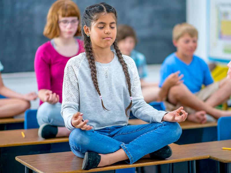 Nelle scuole inglesi arriva l'ora di meditazione