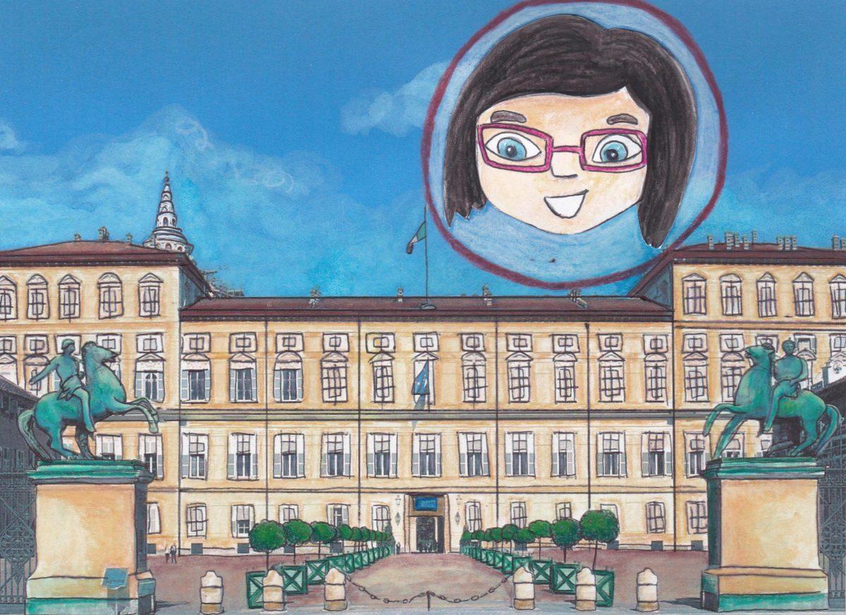 GG attraverso gli specchi di palazzo reale