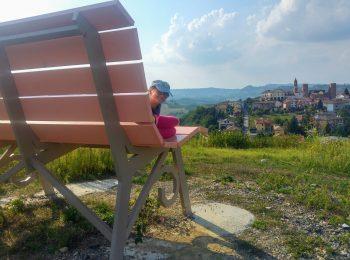 Big Bench – panchine giganti per tornare bambini – Langhe (CN)