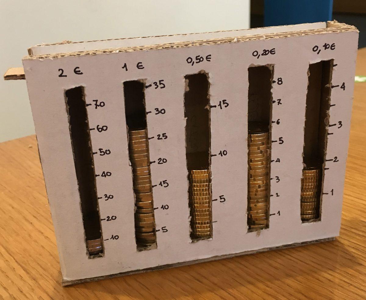 GG la scatola conta soldi
