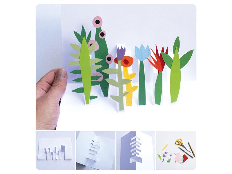 GG creatività 3d con giardino pop up2