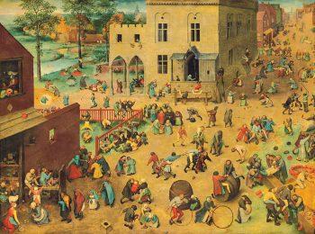 Il diritto al gioco, dall'epoca di Bruegel fino ad oggi