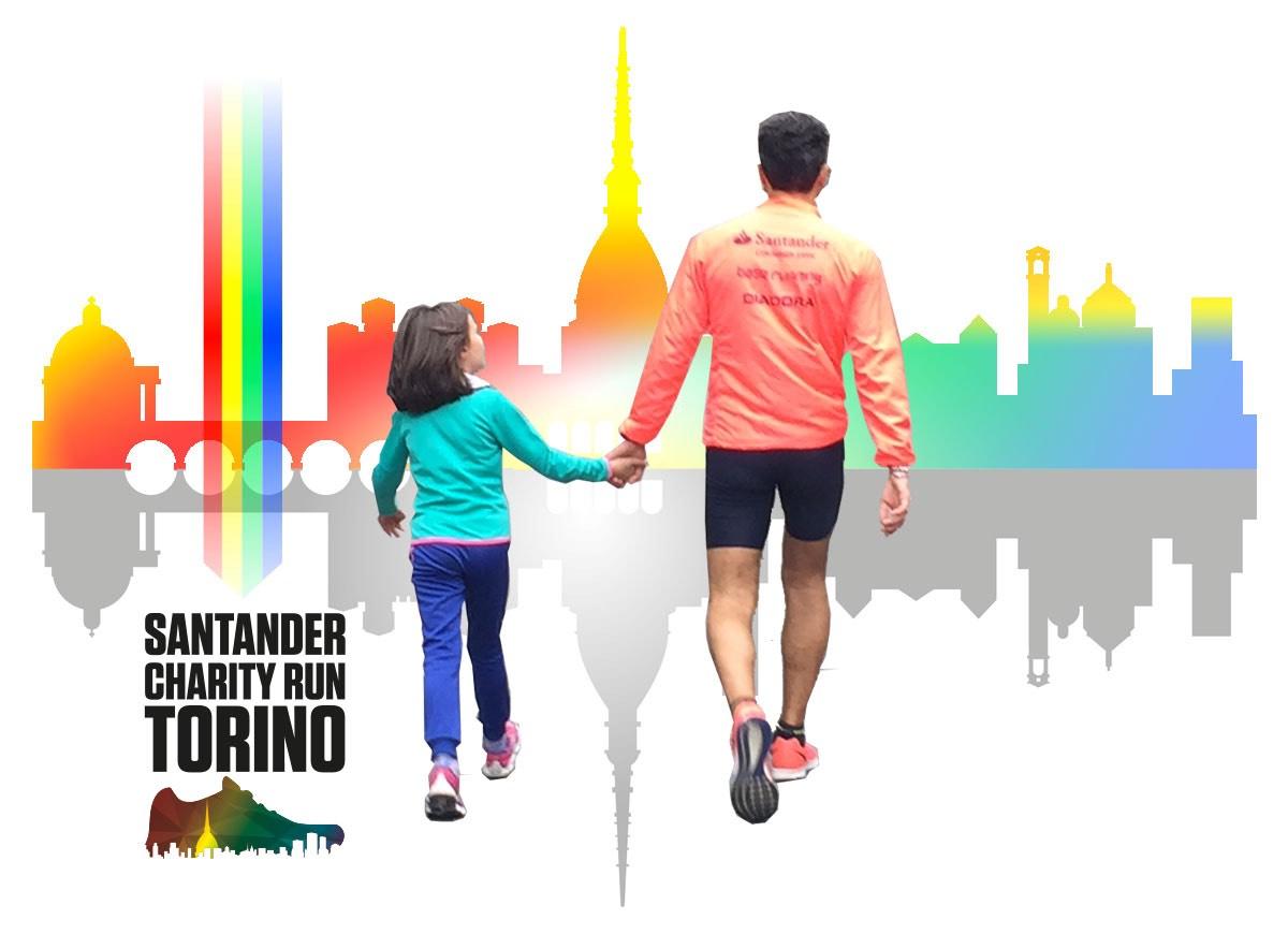 Santander Charity Run di Torino 2019