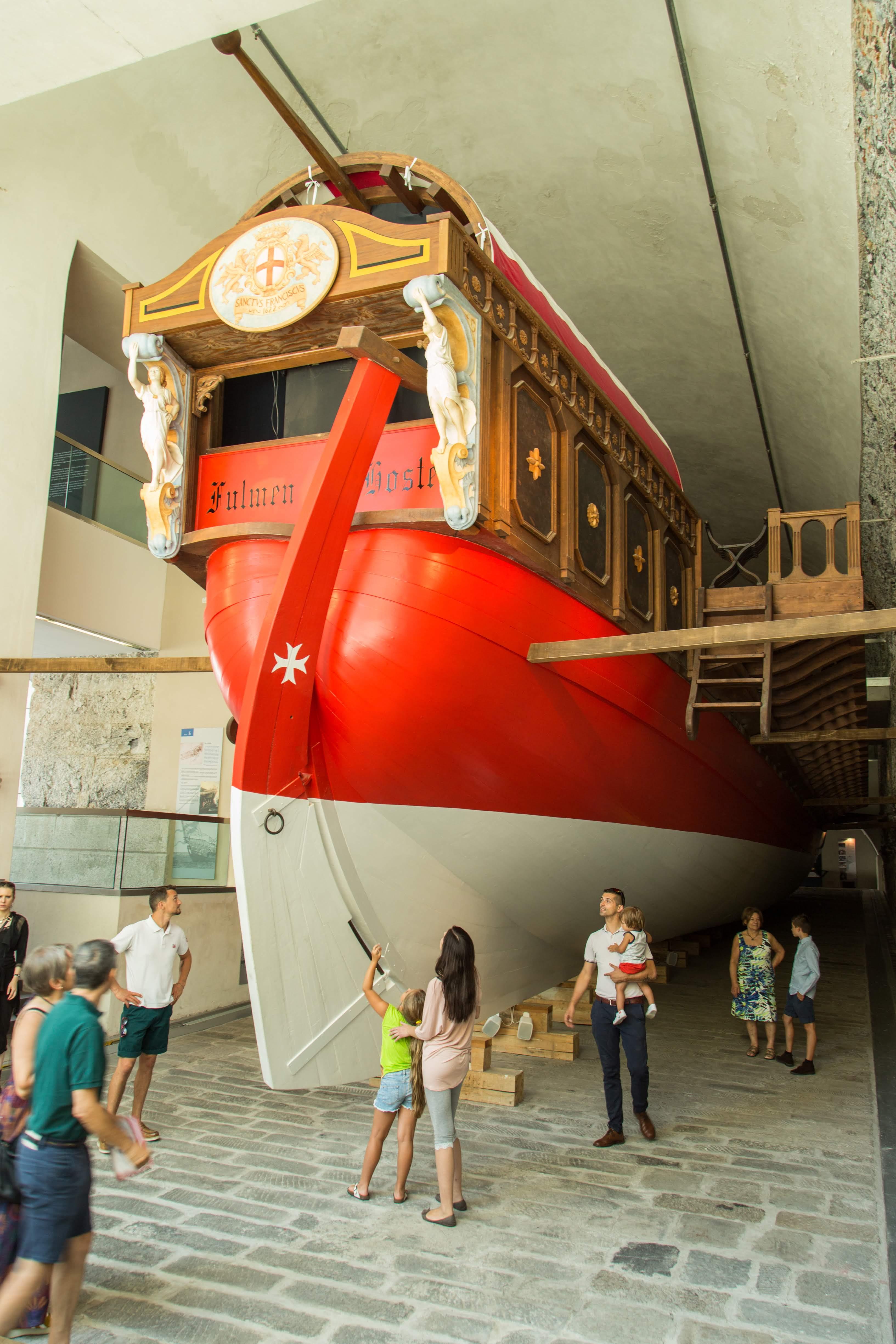 Galata Museo del Mare Poppa della Galea