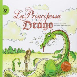Libri per bambine - La principessa e il drago