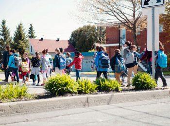 La passeggiata è una materia di scuola