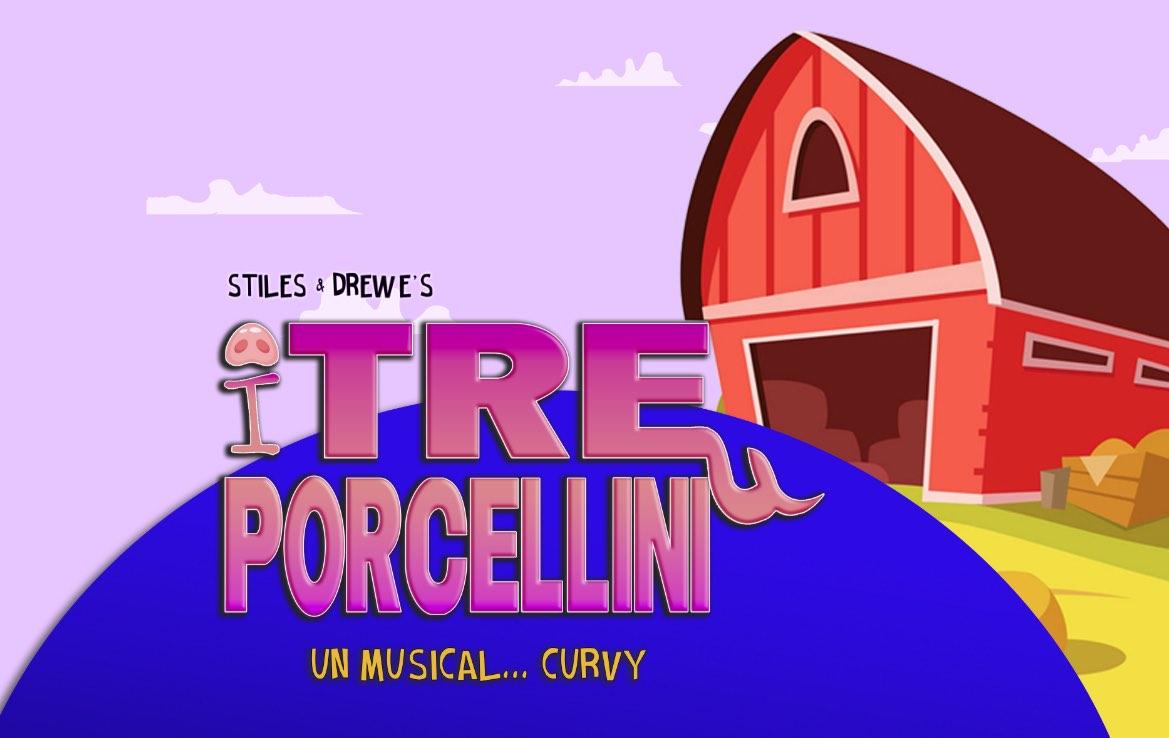 I Tre Porcellini di Chi è di scena a Torino, a maggio