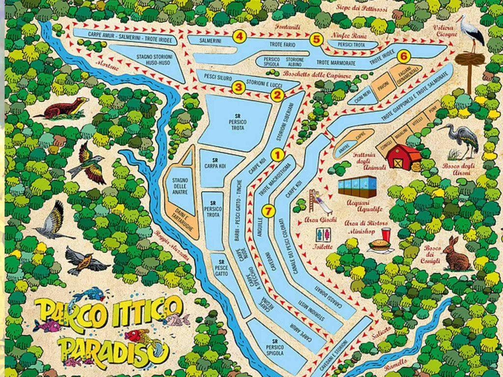 GG parco ittico paradiso a maggio1