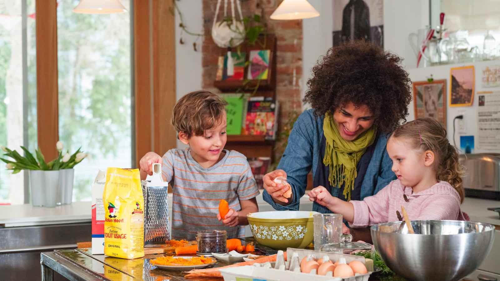 A lezione di cucina da Prénatal con Kenwood