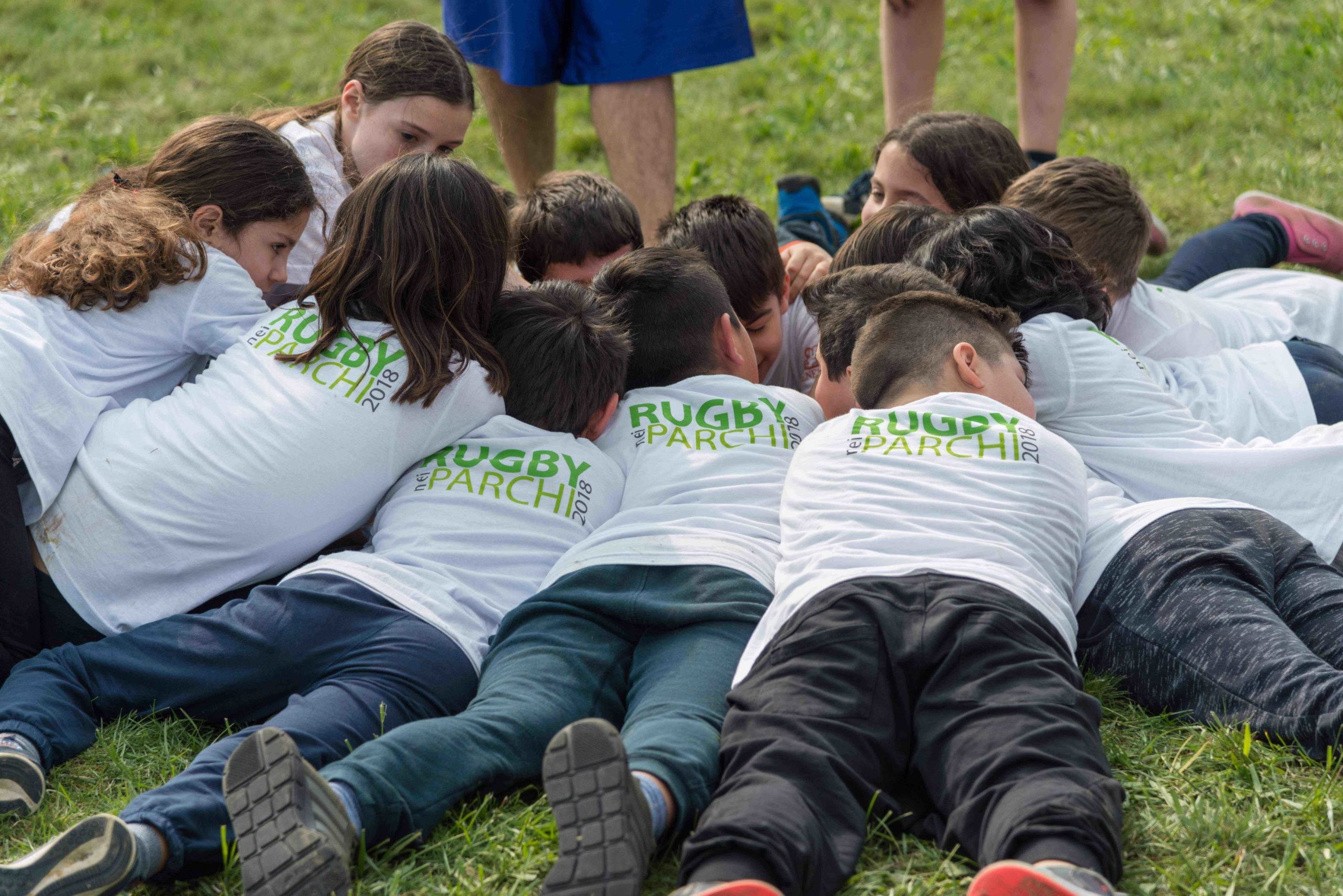 Rugby nei Parchi 2019, famiglie sportive e felici