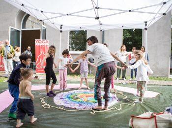 YogaFestival Bimbi 2019, tra asana e miti indiani