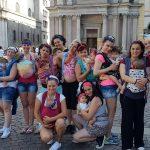 GG flashmob nazionale babywearing