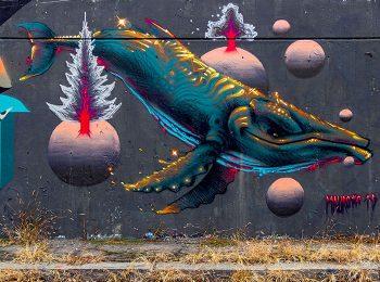 Street art in città