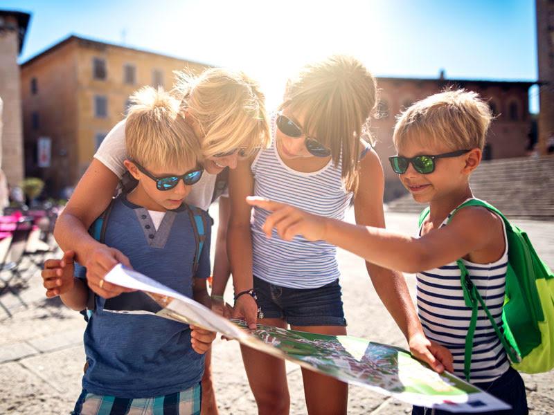 Guide turistiche per bambini: piccoli viaggiatori crescono