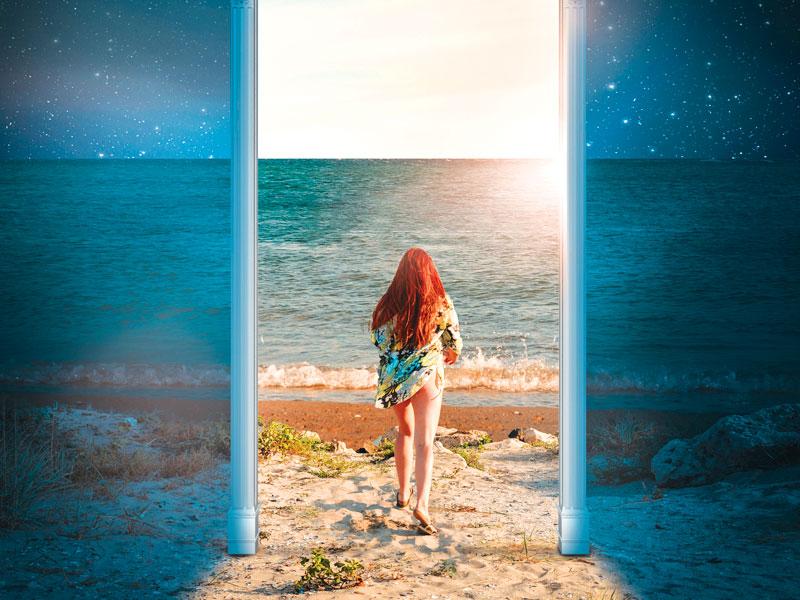 Caterina, i figli adolescenti e la vita fuori dalla porta