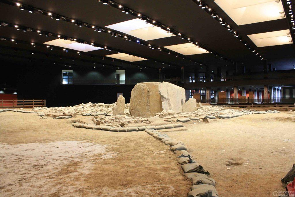 GG area megalitica di aosta a luglio1