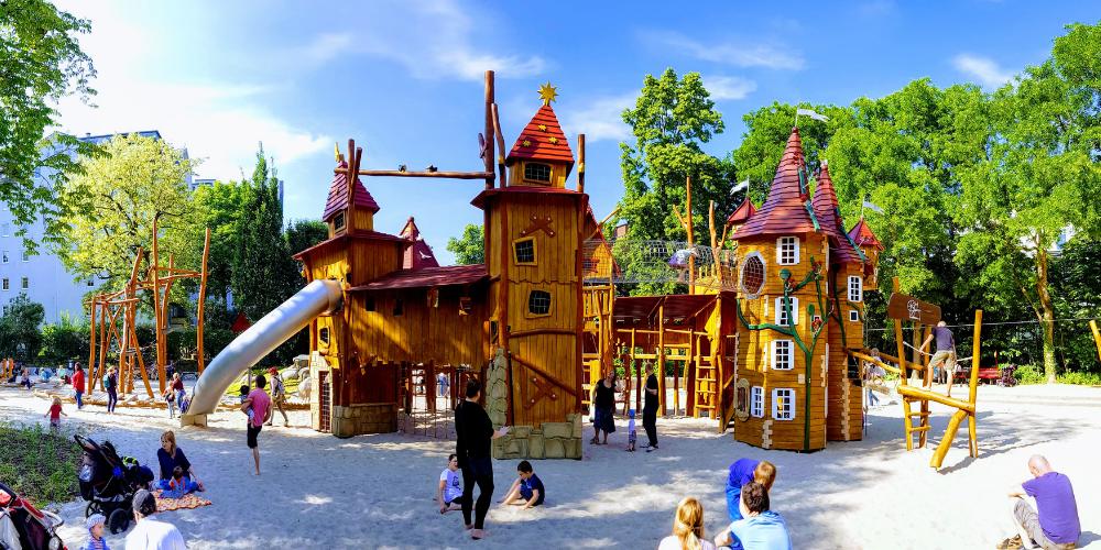 Meravigliosi playground, angoli di divertimento in giro per l'Europa