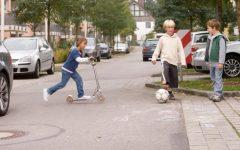 giocare per strada