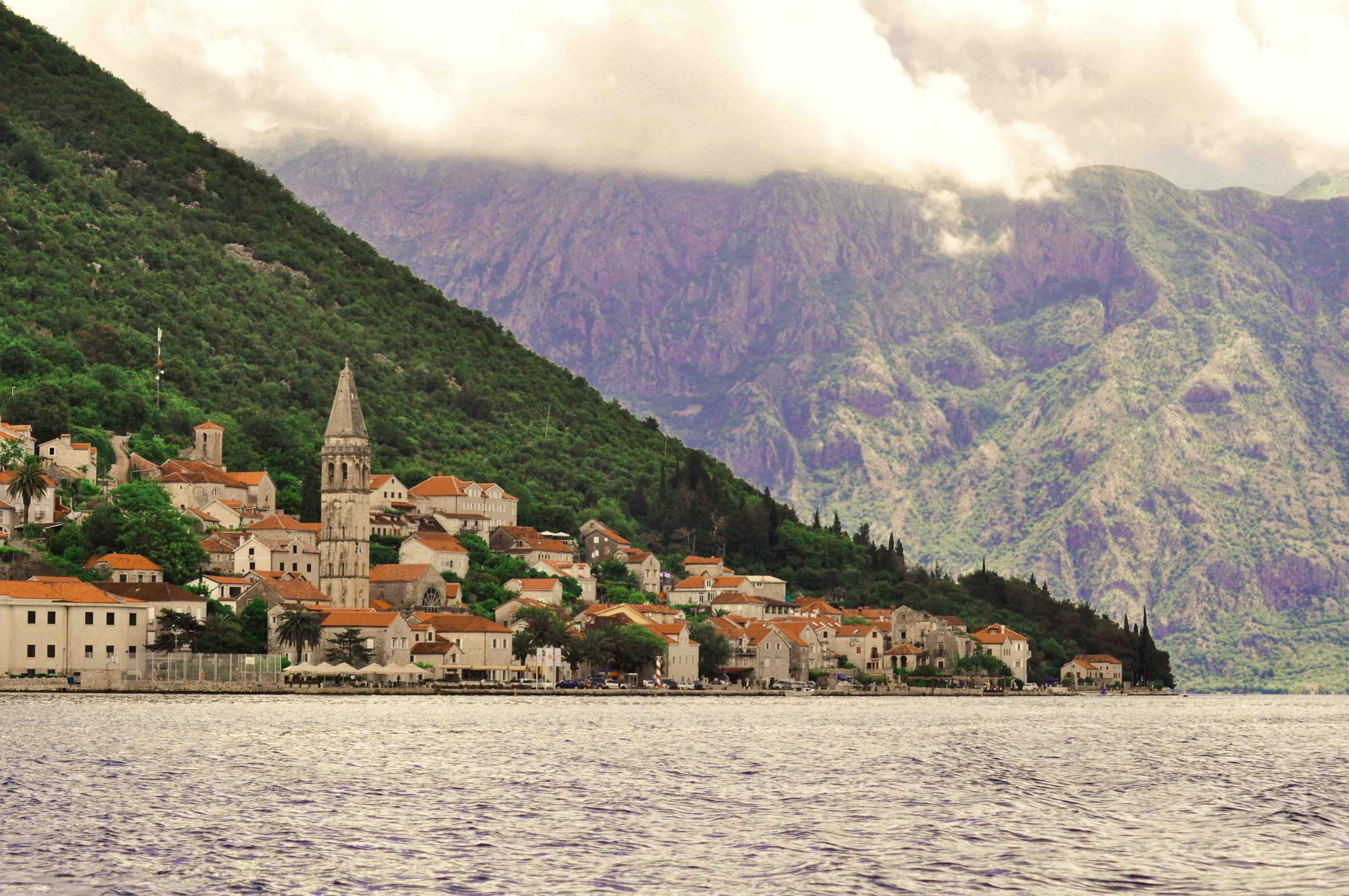 Montenegro con bambini - Baia di Kotor