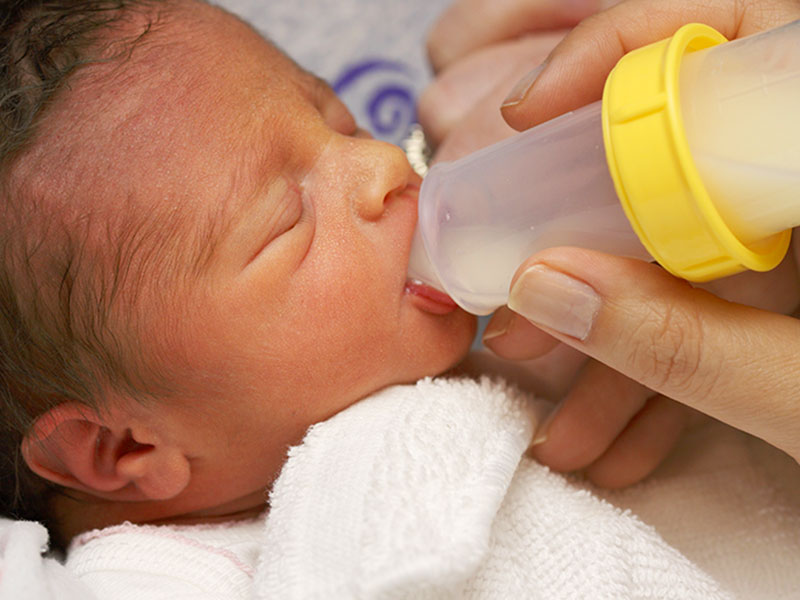 Latte di asina per i bambini prematuri e sottopeso
