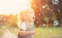 il bello dell'infanzia