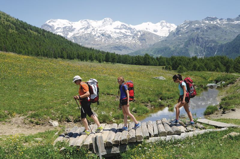Trekking Monte Rosa