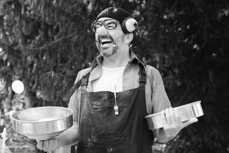 Ottobre da Campo Teatrale è allegra follia, quella del clown Mr Brush