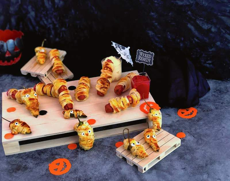 Halloween snack party