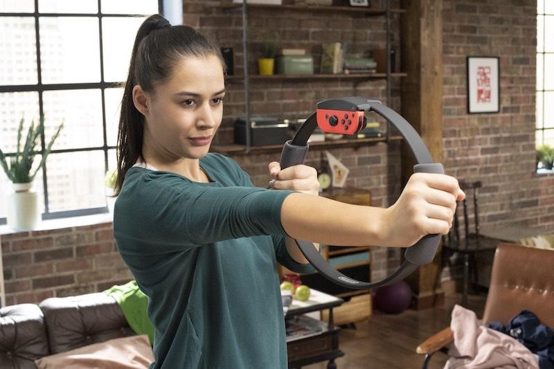 Ring Fit Adventure di Nintendo: il fitness a misura di mamma