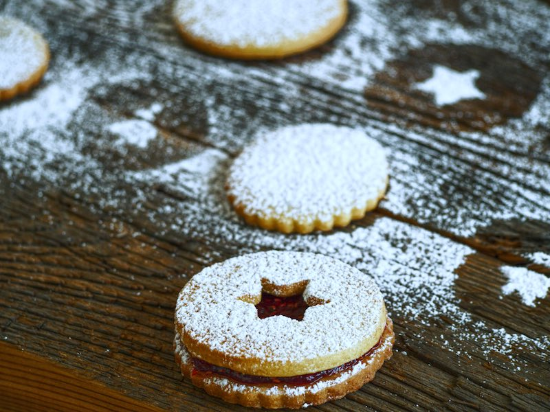 I biscotti di Linz: una ricetta di Natale