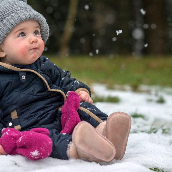 i bambini stanno bene al freddo