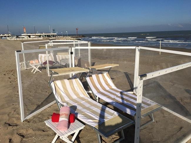In spiaggia d'inverno, finalmente anche in Italia