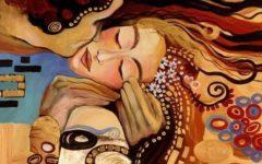 coppia Klimt