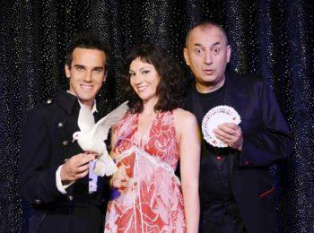 Il magico Luca Bono con Wow tra magia e varietà, con Marco Aimone