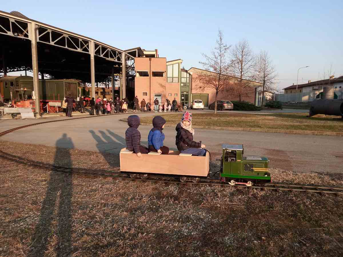 Al Museo Ferroviario Piemontese a febbraio, visita a misura di bimbo