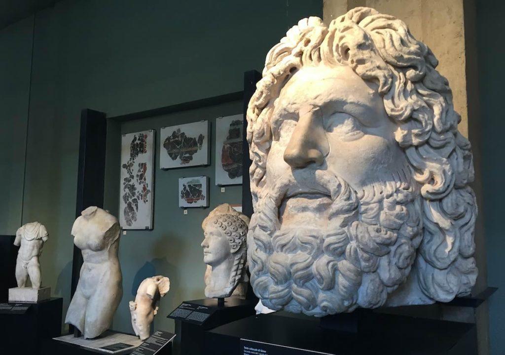 GG museo archeologico di milano a marzo1