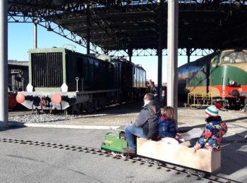 Al Museo Ferroviario Piemontese a marzo, visita a misura di bimbo