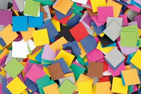 Il mosaico per bambini, un lavoro di precisione