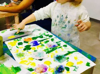 Atelier kids di aprile a Il Museo in erba, in Svizzera