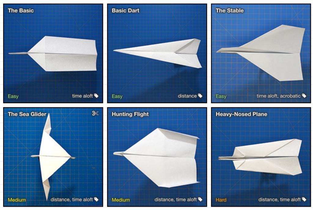 aeroplani carta