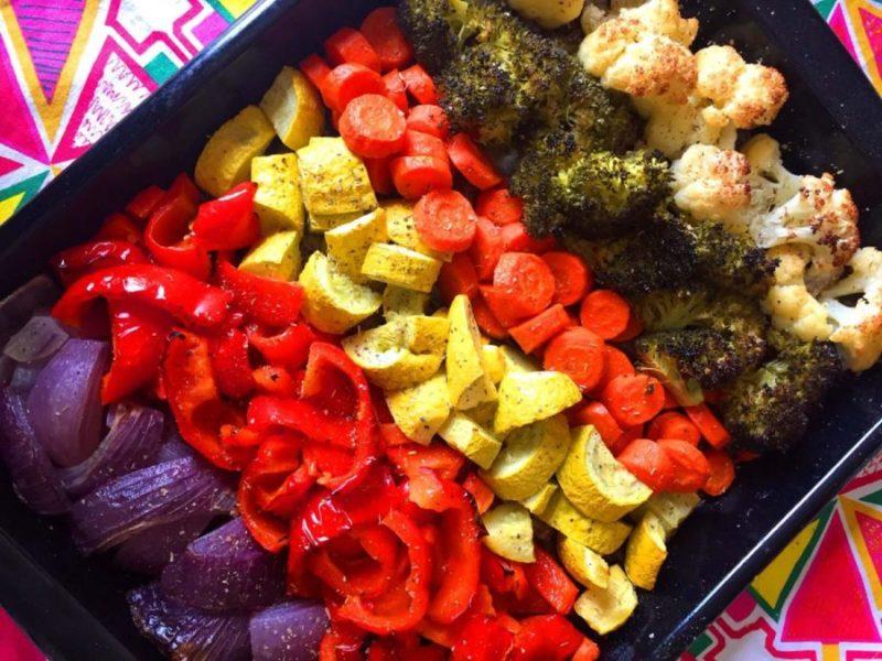 Verdure in teglia