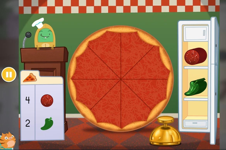 videogioco bambino gratis educational pizza