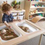 Il vero tavolo Montessori style