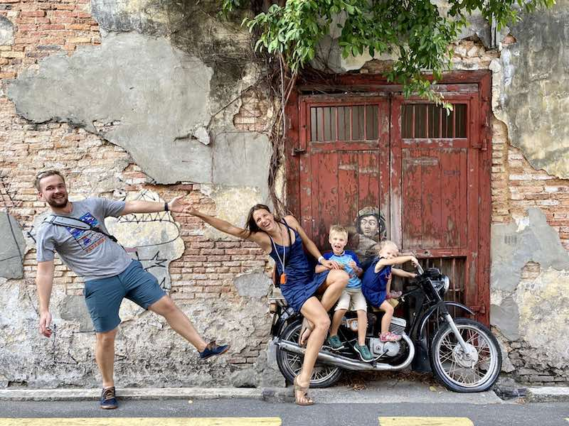 In giro per il mondo con figli e quarantena