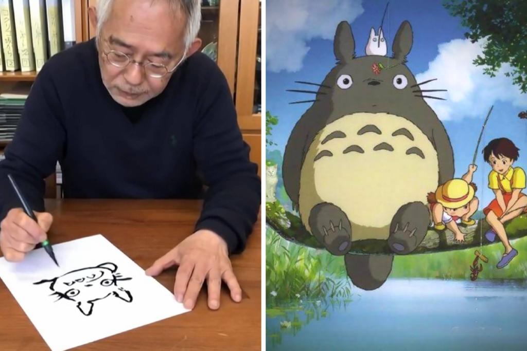 disegnare Totoro