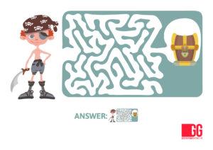GIOCHI DA VIAGGIO bambini - Labirinto da stampare