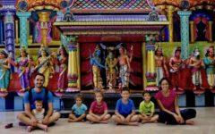 Malesia con bambini