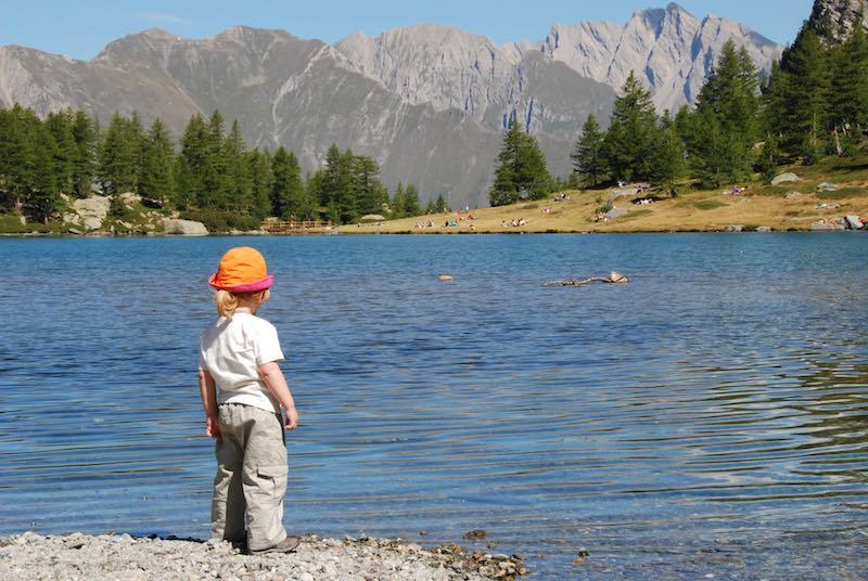 Un gita in Valle D'Aosta? Passeggiamo fino al Lago D'Arpy